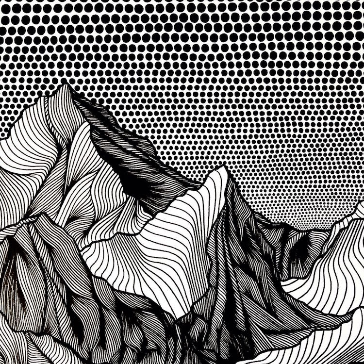 Christa Rijneveld Creates Pen-and-Ink Line Drawings of ...