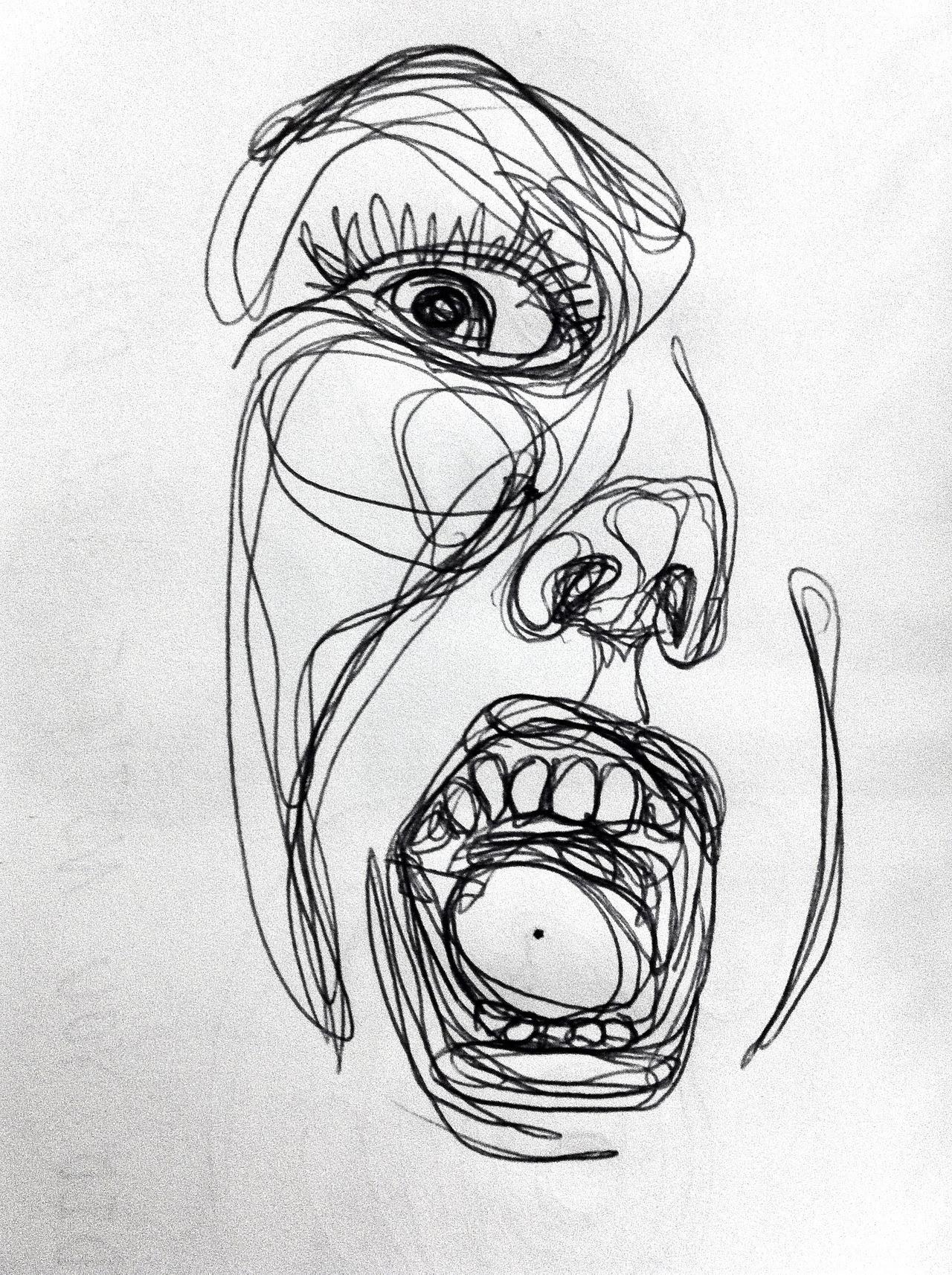 Trippy Pencil Drawings Tumblr