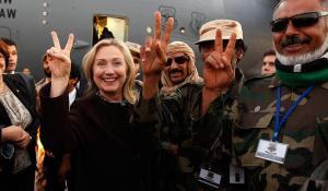 Giuliva fra i suoi terroristi in Libia E' il 18 ottobre 2011, il cadavere di Gheddafi è ancora caldo