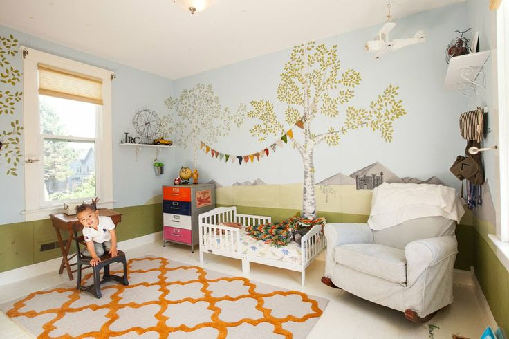 "Finley and Jackson's ""Modern Shabby-Chic"" Bedrooms & Playrooms"