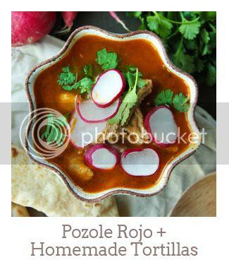 """Pozole Rojo + Homemade Tortillas"""