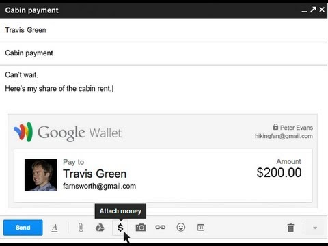Google Wallet is now integrated with Gmail