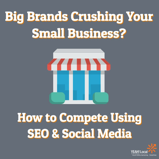 Big Brands Crushing Your Small Business? How to Compete Using SEO & Social Media