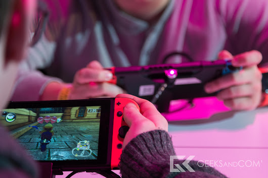 Nintendo Switch : prise en main des jeux Arms, 1-2 Switch, Mario Kart 8 Deluxe et Splatoon 2 - Geeks and Com'