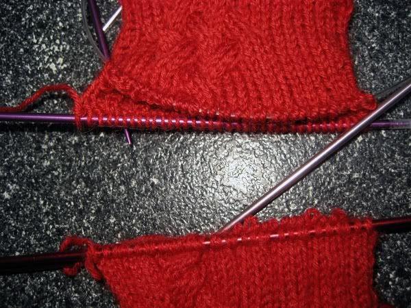 sock split