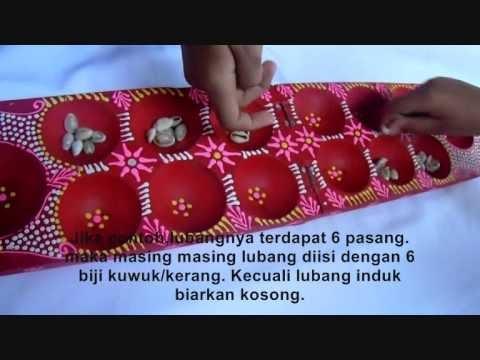 Video tutorial : Cara Main Congklak Dakon   Permainan Tradisonal Indonesia