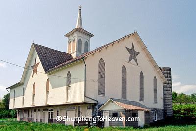 The Star Barn, Built 1872, Dauphin County, Pennsylvania