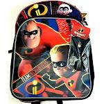 "Disney Incredibles 2 16"" Kids Backpack with Eye Mask"
