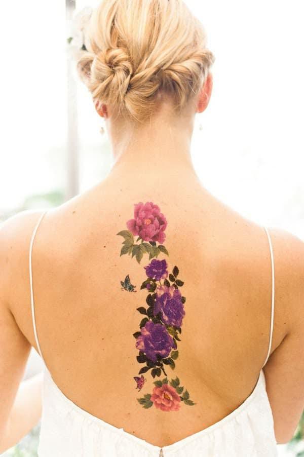 Tatuajes De Flores Significados Diseños Tendencias