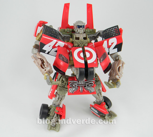 Transformers Leadfoot DotM Human Alliance - modo robot