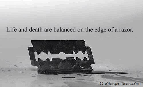 Quote About Life Death Are Balanced Quotespicturescom