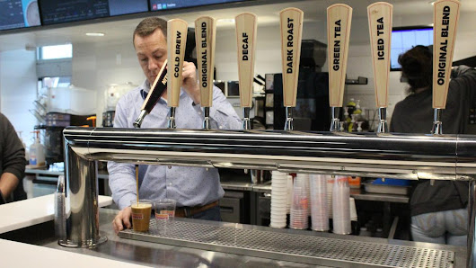Post-'Donuts', Dunkin' pivots to espresso, high-tech ordering - Boston Business Journal