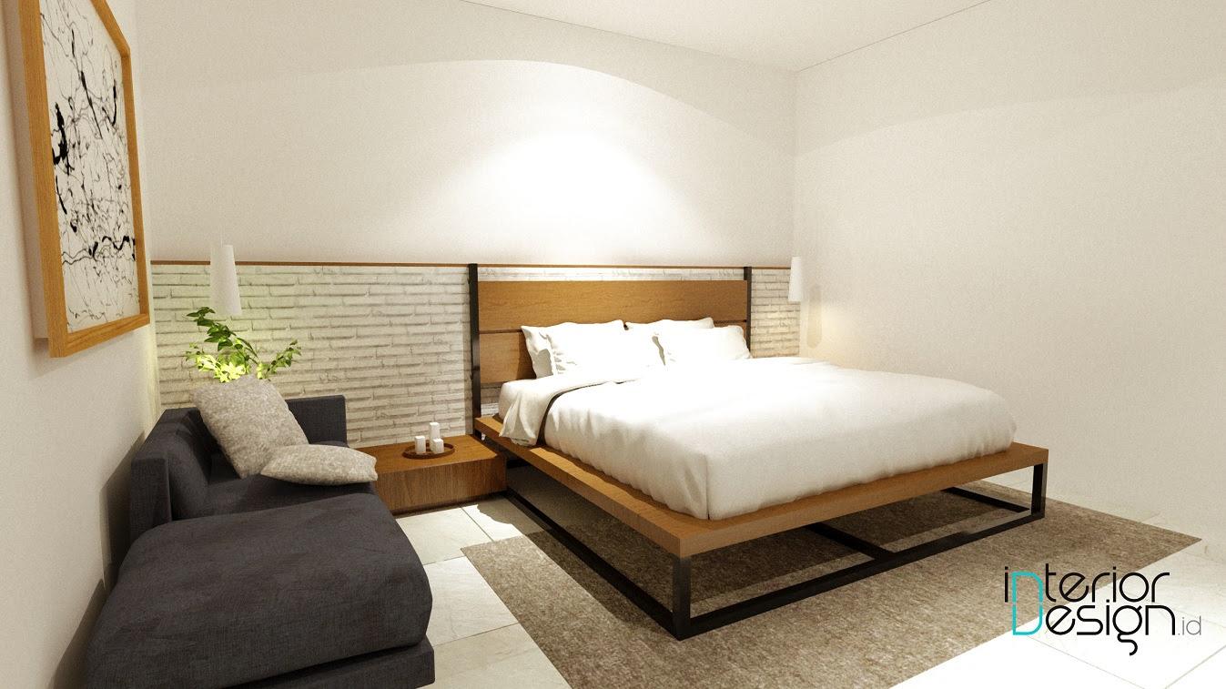 Kamar Tidur Utama Rumah Kantor Cirebon InteriorDesignid