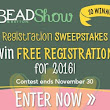 Win a free registration for the 2016 Bead&Button Show!