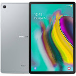 "Samsung Galaxy Tab S5e SM-T725 10.5"" LTE 64GB 4GB RAM Factory Unlocked International Version No Warranty in The USA (Silver) by NGP STORE USA"