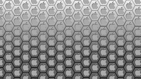 Download 1920x1080 HD Wallpaper apple logo background grey