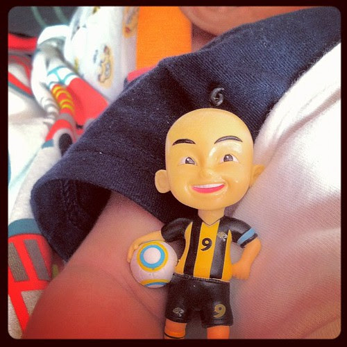 Upin figura from KFC
