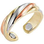 Triple Twist Magnetic Therapy Ring MagnetRX