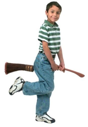 Harry Potter's vibrating broomstick