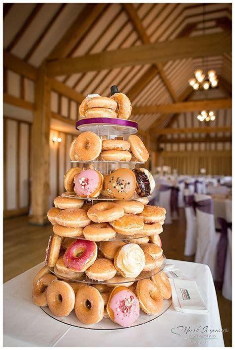Krispy Kreme wedding cake. http://markseymourphotography