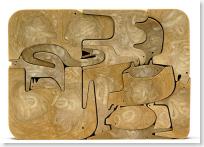 Enzo Mari Animal Puzzle