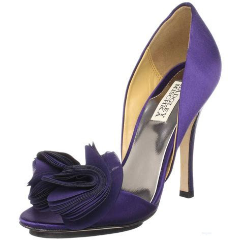 All FUN 143: Purple Bridal Shoes