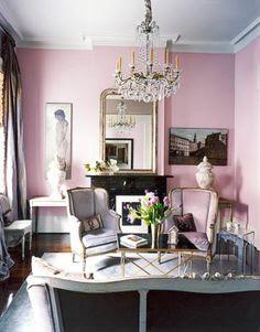 Feminine Living Rooms on Pinterest