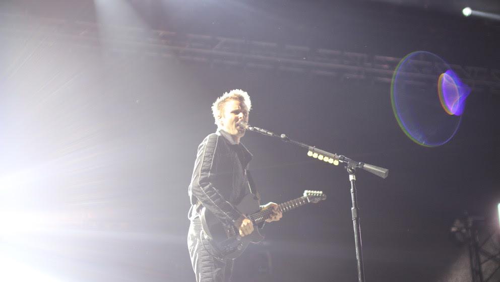 Muse live beim Lollapalooza 2015