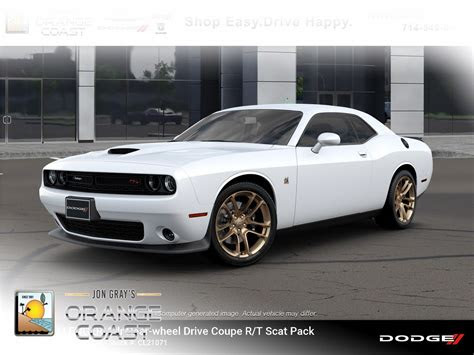 dodge challenger rt scat pack coupe  costa