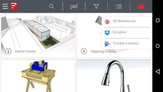 SketchUp Mobile Viewer- screenshot thumbnail