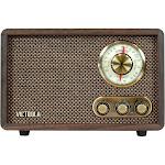 Victrola - Retro Wood Bluetooth AM/FM Radio - Espresso