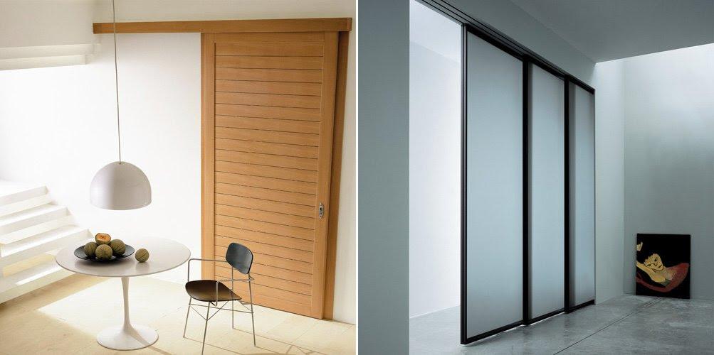 Dormitorio Muebles modernos: Guias para puertas correderas de madera