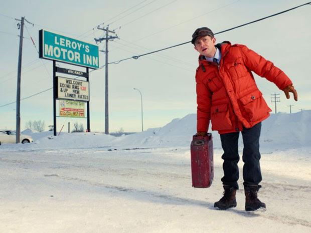 Martin Freeman em cena da série 'Fargo'