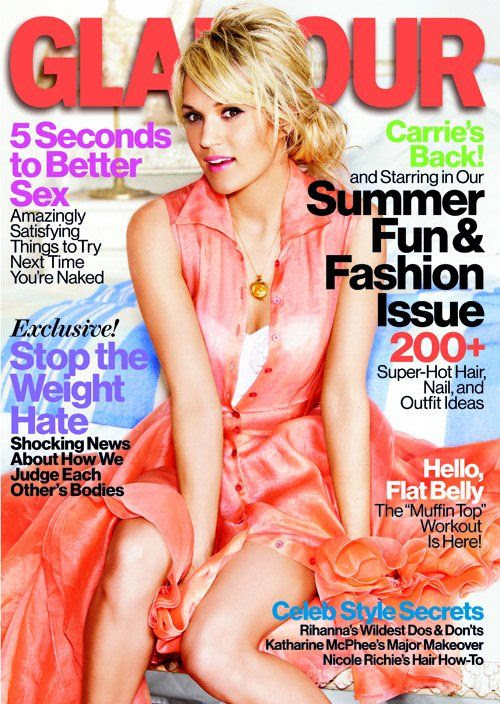 Glamour - June 2012, Carrie Underwood