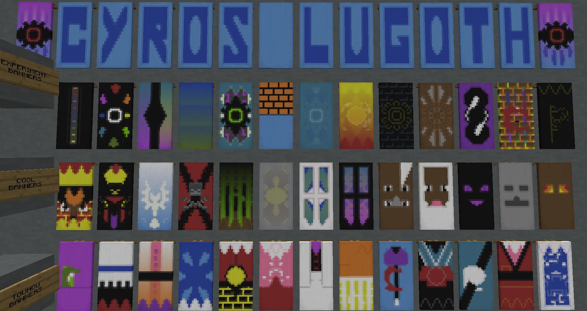 Minecraft Banner Letter Tutorial Muat Turun D
