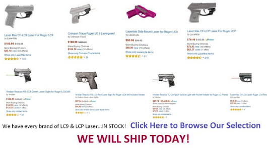 Ruger LC9 Laser | Discount Blowout Sale - We Ship