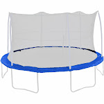 Jumpking PAD10JP4-8B 10 Foot Safety Pad for 5 Poles & 5.5 inch Sized Springs