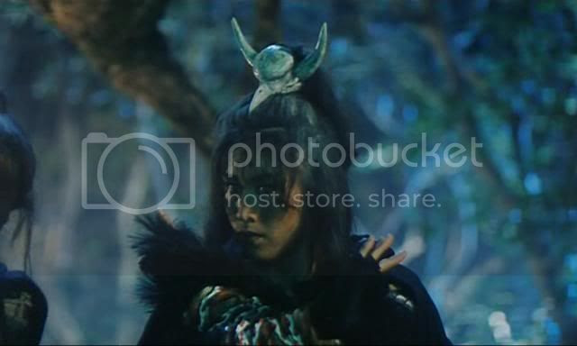 Pauline Yuk Wan Wong as the evil sorceress