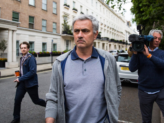Jose Mourinho 'can't yet move to Manchester United' because Chelsea own his name