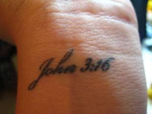 20 John 3 16 Cross Tattoos Men On Arm Ideas And Designs