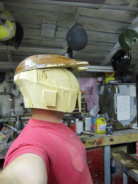 Caboose Helmet Test Fit