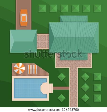 Aerial Stock Vectors  Vector  Clip Art Shutterstock