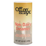 Office Snax Reclosable Canister of Powder Non-Dairy Creamer, 12oz (OFX00020)