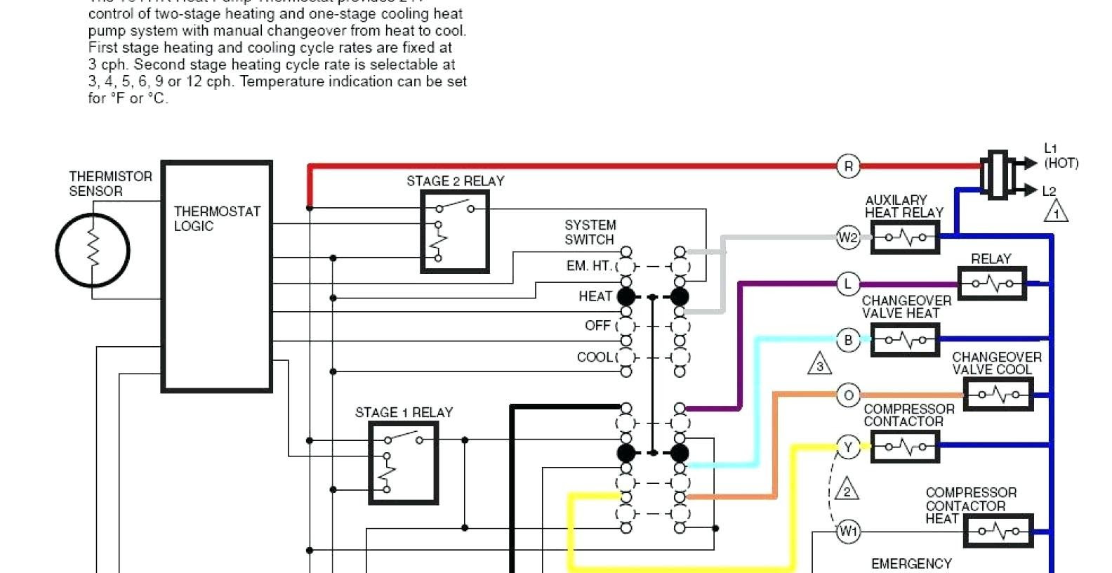American Standard Thermostat Wiring Diagram - Database