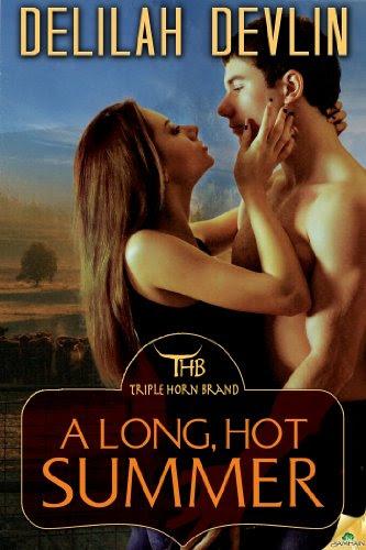 A Long, Hot Summer (The TripleHornBrand) by Delilah Devlin