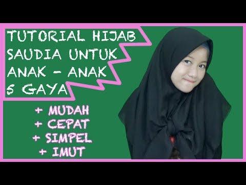 Tutorial Hijab Buat Anak Sekolah