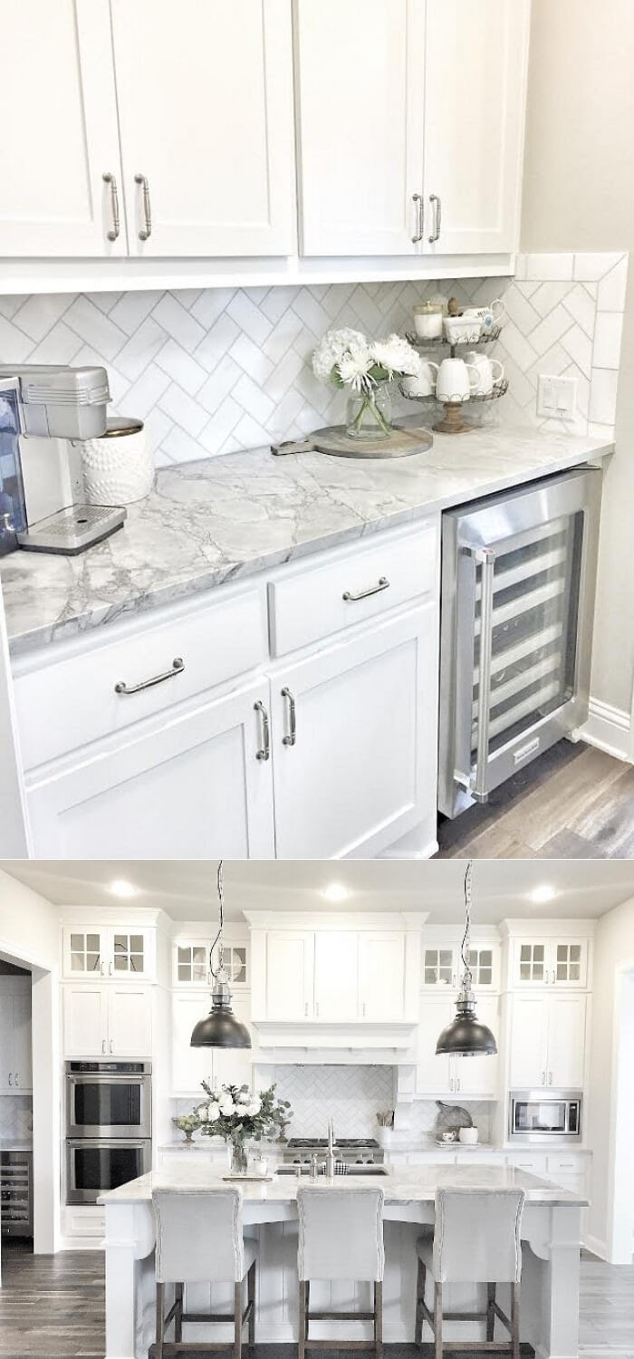Trends For Interior Design White Kitchen pictures