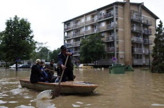 Radio amateurs assist in Serbia flood rescues