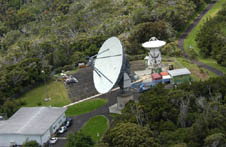 A radio telescope used in ICRF2