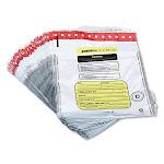 MMF Industries Tamper-Evident Deposit/Cash Bags Plastic 12 x 16 White 100 Bags/Box 2362011N06